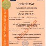 IGIENA SERV ISO 18001 2018